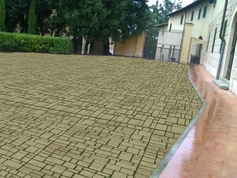 Pavimenti A Secco Per Esterni Gallery Of Pavimento In Pietra Con